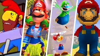 Evolution of Super Mario References in Other Games (1991 - 2019)
