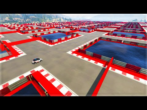 THE IMPOSSIBLE MAZE!! (GTA 5 Online Funny Moments)