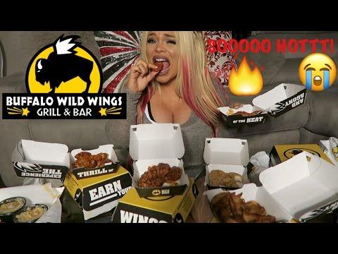 BUFFALO WILD WINGS EATING SHOW (MUKBANG) | WATCH ME EAT!