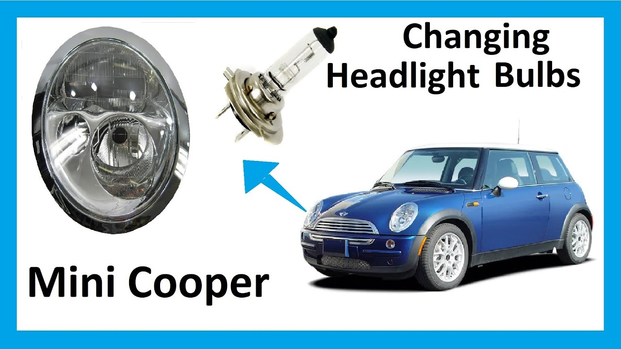 How To Change Headlight Bulbs In Your Mini Cooper Youtube