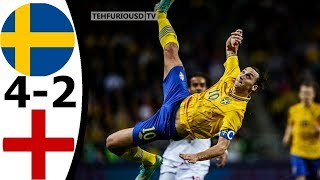 The Day Zlatan Ibrahimovic Destroyed England - Highlights (English Commentary) HD 720p