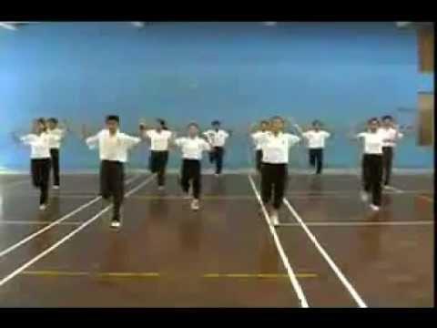 Thể Dục Nhịp Điệu lớp 10 nữ Part 1 (Mirrored)
