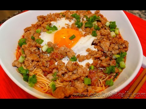 0 Sichuan Spicy Dan Dan Noodles/四川擔擔面/Chinese Food, Cooking and Recipes
