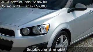 2013 Chevrolet Sonic LTZ Auto 4dr Hatchback for sale in Colu