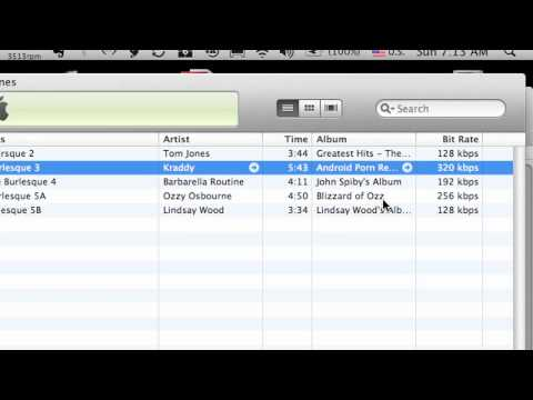 How to Check your Songs Bit Rate in iTunes