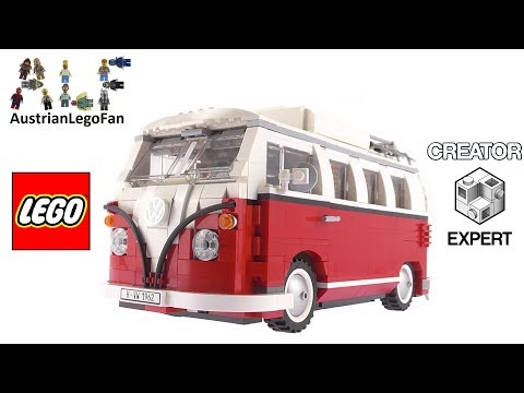 Lego Creator 10220 Volkswagen T1 Camper Van - Lego Speed Build Review