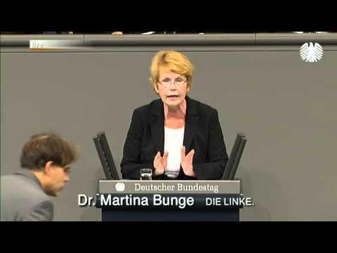 Martina Bunge, DIE LINKE: Schwarz-Gelb Macht Das Gesundheitssystem Vollends Kaputt
