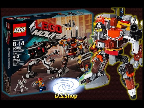The LEGO Movie Sets Metal Beard's Duel 70807 Lego la