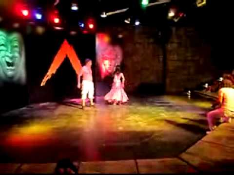 Naked Belly Dance video