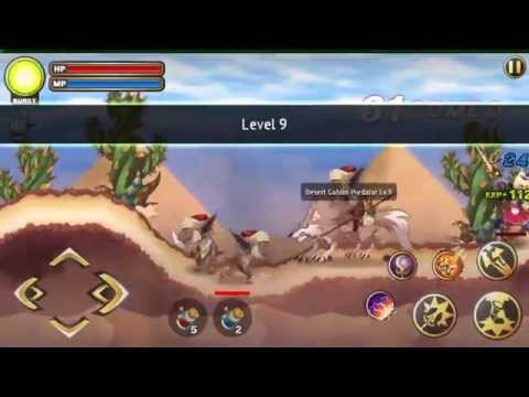 Arcane Soul - Android/IOS - Ellisa Act 2 Lv. 09 - Gameplay