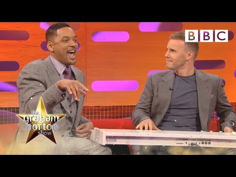 Will Smith and Gary Barlow Do 'The Fresh Prince of Bel-Air' Rap - The Graham Norton Show - BBC One klip izle