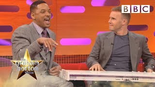 Men in Black III - Will Smith and Gary Barlow Do 'The Fresh Prince of Bel-Air' Rap - The Graham Norton Show - BBC One