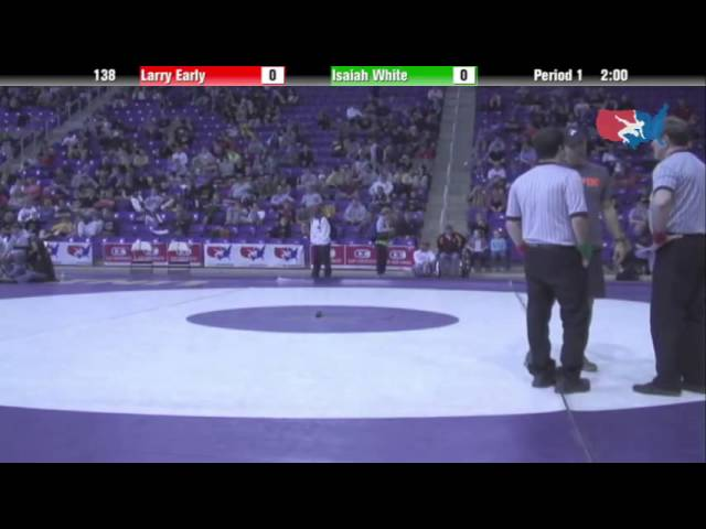Cadet 138 - Isaiah White (10 FO Wrestling Club) vs. Larry Early (10 FO Wrestling Club)