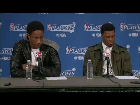 Raptors Post-Game: DeMar DeRozan & Kyle Lowry - April 23, 2016