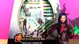 Mega Set de Diseño de Los Descendientes | Juguetes Descendientes en español | Descendants Toys