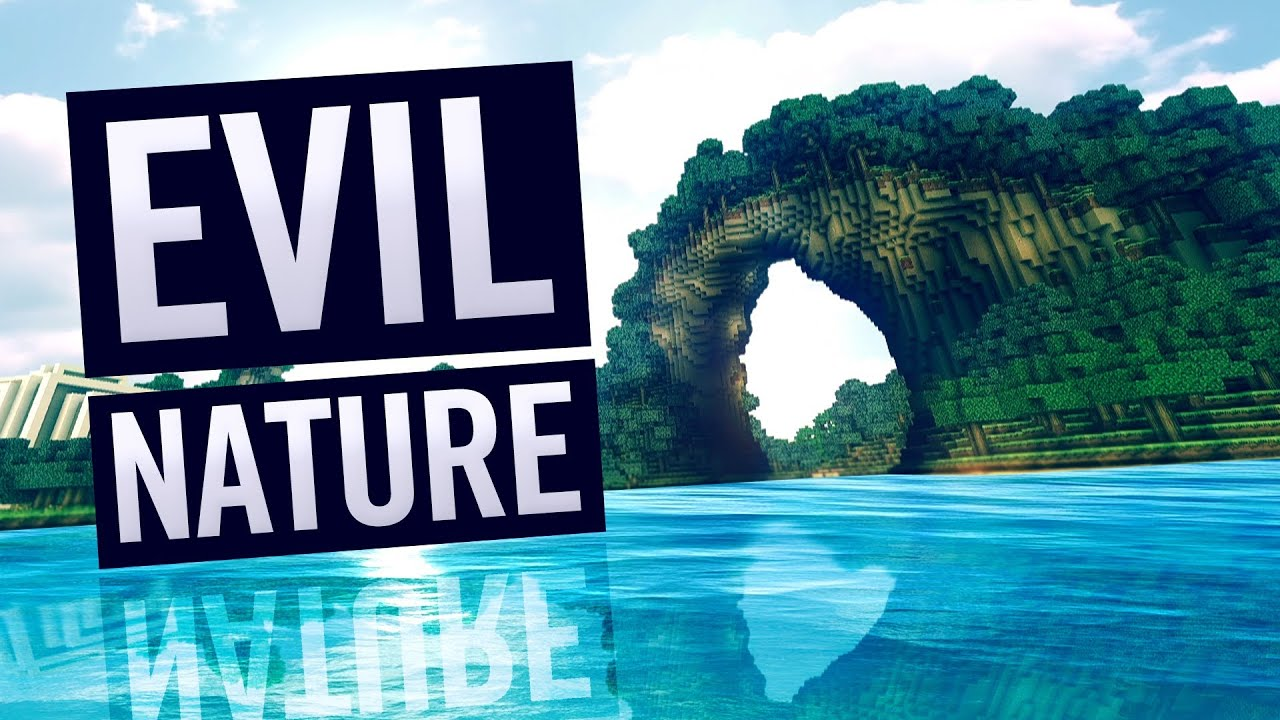 Quot Evil Nature Quot Minecraft W Realistic Water Sonic Ether