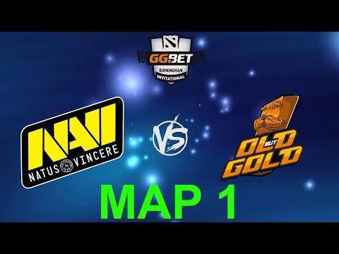 [RU] Natus Vincere vs. Old but Gold - GG.Bet Birmingham Invitational BO3 @4liver MAP 1