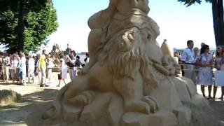 Sand Sculpture Festival St. Peterbrug, Russia