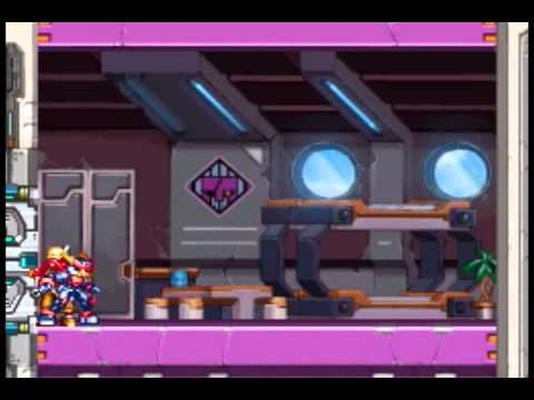 Mega Man ZX Advent (Grey) - Oil Field