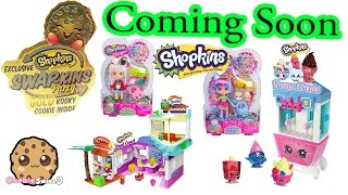 Coming Soon - Shopkins Swapkins Party with Season 5 Gold Kooky Cookie + Shoppies