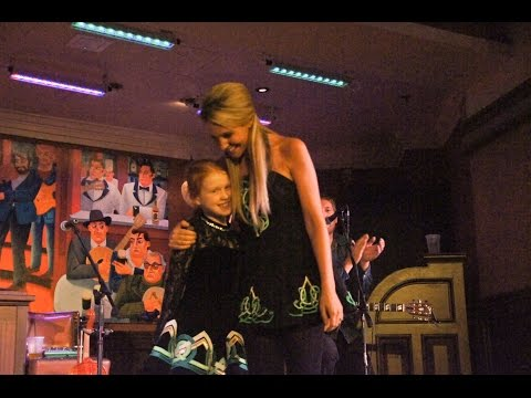 Girl's dancing dream come true at Walt Disney World's Raglan Road Irish Pub