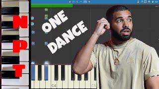 Drake ft. WizKid & Kyla - One Dance - Instrumental Remix - Piano Cover