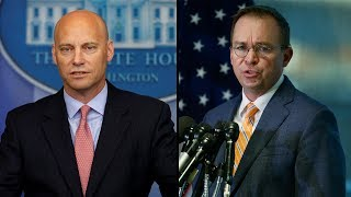 WATCH LIVE: Marc Short, Mick Mulvaney hold briefing on potential government shutdown