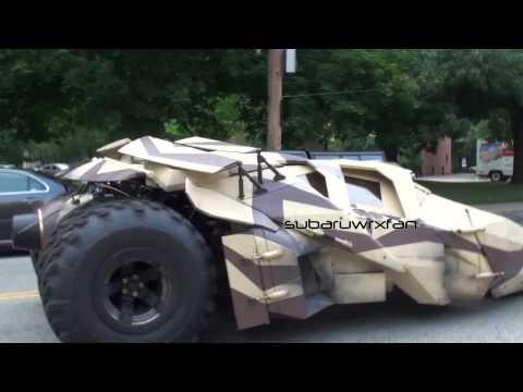 Video del nuevo Batimovil que veremos en The Dark Knight Rises