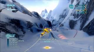 SSX Cerro Pollone: Black Box: trick it gold medal