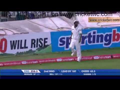 Ian Bell s run out against India  - Dhoni calls him back | India vs England 2nd Test 2011
