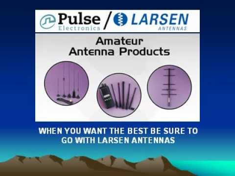 AMATEUR RADIO ANTENNAS FROM LARSEN.avi