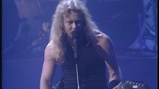Metallica Enter Sandman Live At The Audio Music Awards 1991