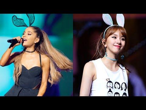 How Ariana Grande's 'thank u, next' is Similar to TWICE