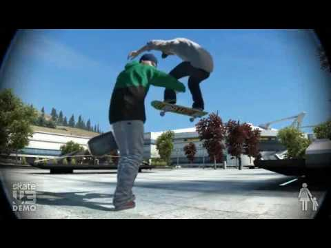 Skate 3 Demo Montage Silly Funny Bails Glitches Nice