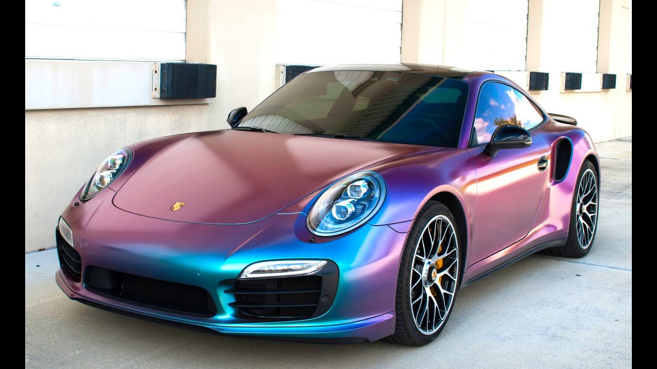 Color Changing Porsche Youtube