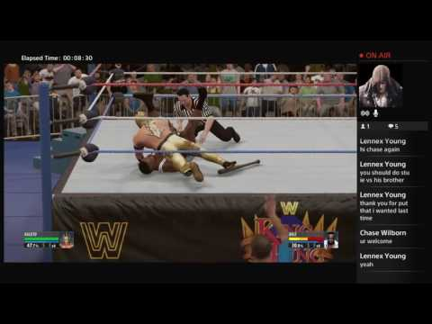 Chase plays Wwe2k16 part 3 remake