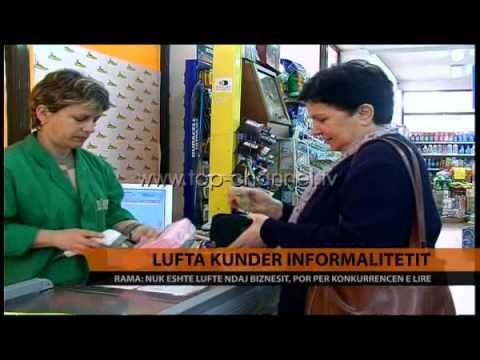 Lufta kundër informalitetit  - Top Channel Albania - News - Lajme