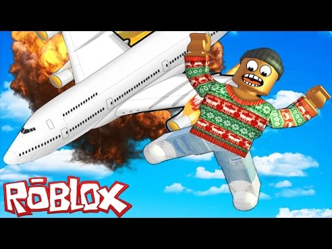 SURVIVE A PLANE CRASH IN ROBLOX
