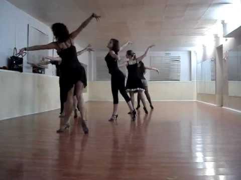 Basic Rumba routine - Solo latin by Jane Kornienko in Trinity Dance Studio