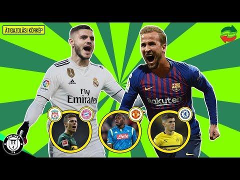 Harry Kane 200 M. €-ért A Barcában? Icardit Akarja A Real Madrid! | Átigazolási Körkép