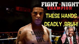 """COME GET THESE HANDS! ( FUNNY """"FIGHT NIGHT CHAMPION"""" GAMEPLAY #1)"""