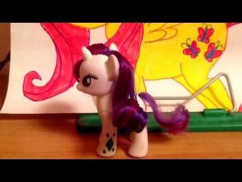 Как сделать прическу для пони как в мультике