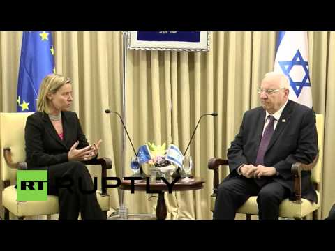 Israel: Mogherini thanks Israeli President Reuven for his