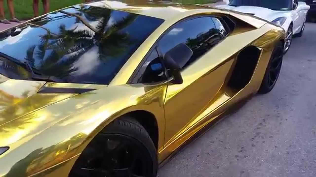 lamborghini aventador lp 700 4 gold car wrap lamborghini. Black Bedroom Furniture Sets. Home Design Ideas