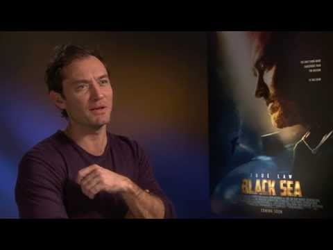 Jude Law Interview with GLAMOUR: Black Sea Movie & Talks The Holiday Sequel