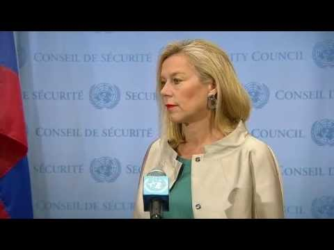 Sigrid Kaag (Joint OPCW-UN Mission) on Syria - Security Council Media Stakeout (8 May 2014)