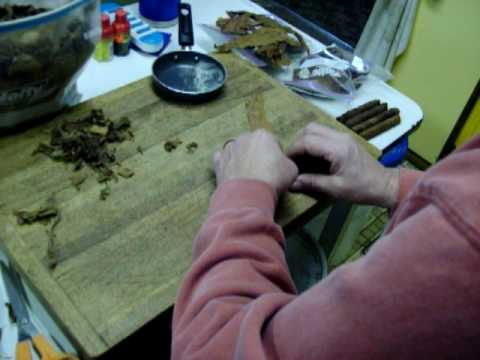rolling cigars end filler