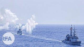 Hải quân Đài Loan tập trận bắn tên lửa giữa lúc căng thẳng với Trung Quốc