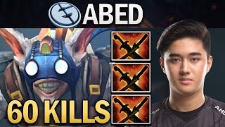 EG.ABED MEEPO WTF 60 KILLS - DOTA 2 GAMEPLAY