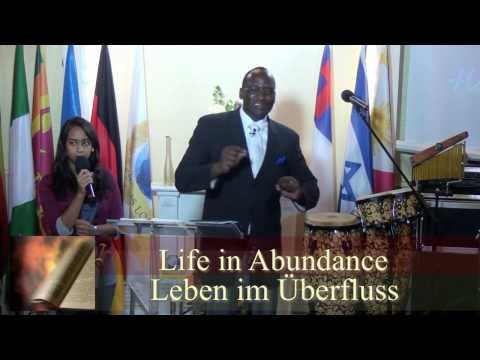Video:Stop the Pity Party -Pastors Maxwell Aruwa in Dortmund Germany